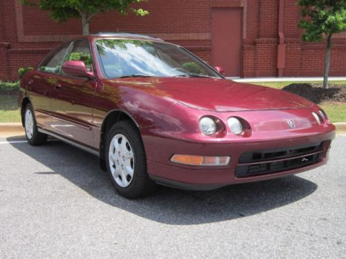 Photo Image Gallery & Touchup Paint: Acura Integra in Matador Red Pearl  (R93P)  YEARS: 1996-1997