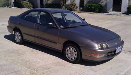 Photo Image Gallery & Touchup Paint: Acura Integra in Desert Mist Metallic  (YR506M)  YEARS: 1995-1996
