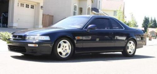 Photo Image Gallery & Touchup Paint: Acura Legend in Cobalt Blue Pearl  (B54P)  YEARS: 1991-1992