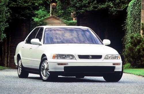 Photo Image Gallery & Touchup Paint: Acura Legend in Taffeta White   (NH578)  YEARS: 1994-1995