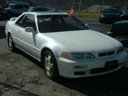 Photo Image Gallery & Touchup Paint: Acura Legend in Cayman White Pearl  (NH585P)  YEARS: 1995-1995