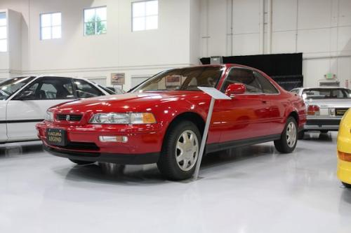 Photo Image Gallery & Touchup Paint: Acura Legend in Phoenix Red   (R51)  YEARS: 1991-1991