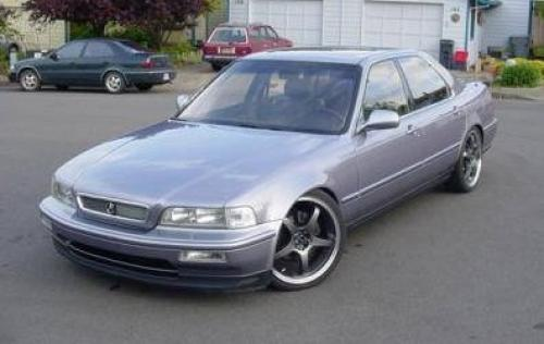 Photo Image Gallery & Touchup Paint: Acura Legend in Twilight Blue Metallic  (RP19M)  YEARS: 1991-1991