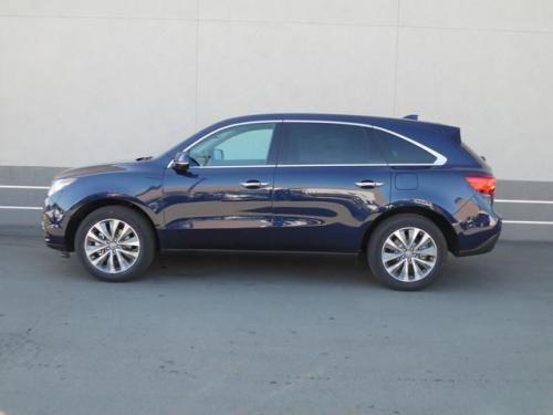 Photo Image Gallery & Touchup Paint: Acura Mdx in Fathom Blue Pearl  (B588P)  YEARS: 2014-2019