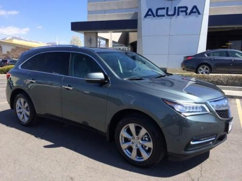 Photo Image Gallery & Touchup Paint: Acura Mdx in Forest Mist Metallic  (G537M)  YEARS: 2014-2016