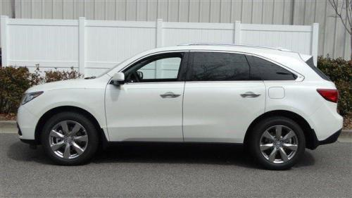 Photo Image Gallery & Touchup Paint: Acura Mdx in White Diamond Pearl  (NH603P)  YEARS: 2014-2019
