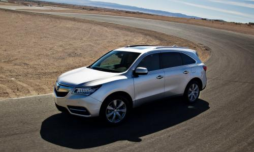 Photo Image Gallery & Touchup Paint: Acura Mdx in Silver Moon Metallic  (NH700M)  YEARS: 2014-2015
