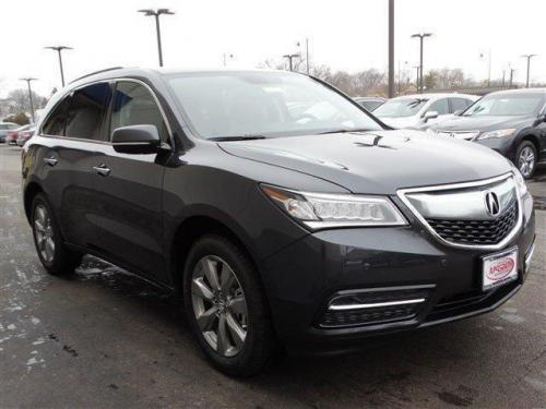 Photo Image Gallery & Touchup Paint: Acura Mdx in Graphite Luster Metallic  (NH782M)  YEARS: 2014-2016