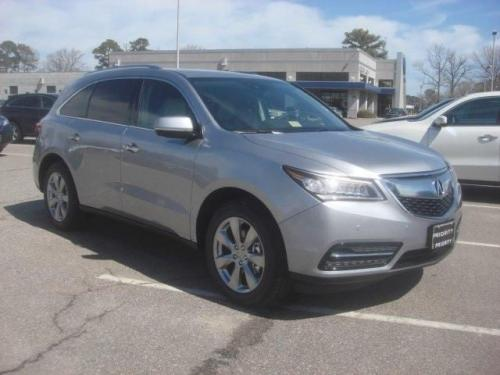 Photo Image Gallery & Touchup Paint: Acura Mdx in Lunar Silver Metallic  (NH830M)  YEARS: 2016-2019