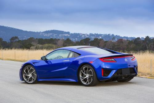 Photo Image Gallery & Touchup Paint: Acura Nsx in Nouvelle Blue Pearl  (B605P)  YEARS: 2017-2018