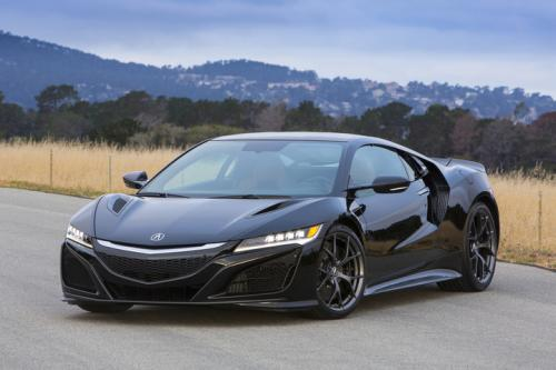 Photo Image Gallery & Touchup Paint: Acura Nsx in Berlina Black   (NH547)  YEARS: 2017-2018
