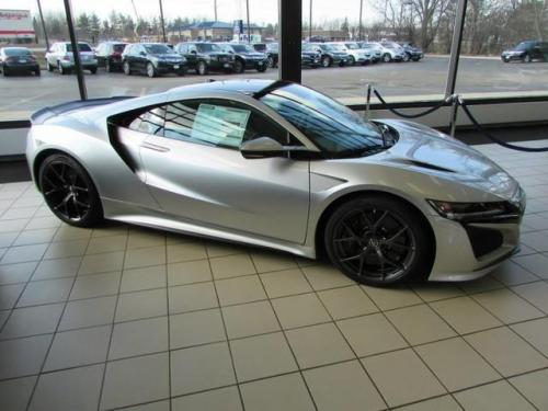 Photo Image Gallery & Touchup Paint: Acura Nsx in Source Silver Metallic  (NH837M)  YEARS: 2017-2018