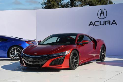Photo Image Gallery & Touchup Paint: Acura Nsx in Valencia Red Pearl  (R556P)  YEARS: 2017-2018