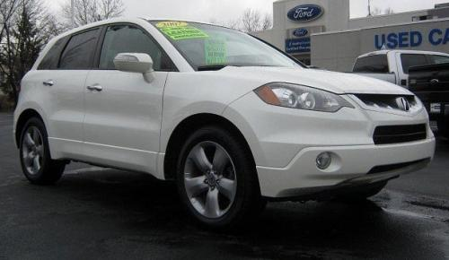 Photo Image Gallery & Touchup Paint: Acura Rdx in White Diamond Pearl  (NH603P)  YEARS: 2007-2011