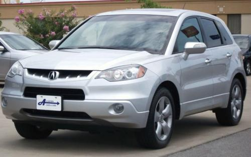 Photo Image Gallery & Touchup Paint: Acura Rdx in Alabaster Silver Metallic  (NH700M)  YEARS: 2007-2008