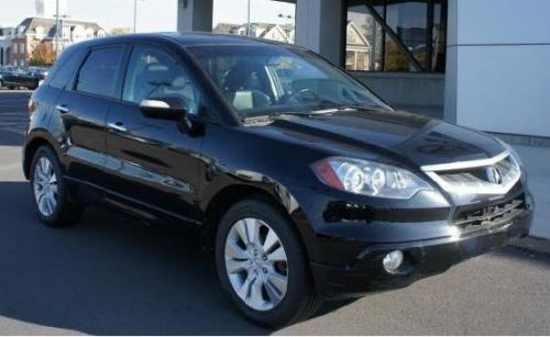 Photo Image Gallery & Touchup Paint: Acura Rdx in Crystal Black Pearl  (NH731P)  YEARS: 2009-2012