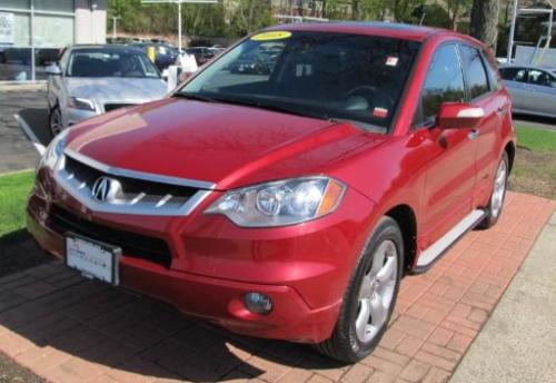 Photo Image Gallery & Touchup Paint: Acura Rdx in Moroccan Red Pearl  (R528P)  YEARS: 2007-2008