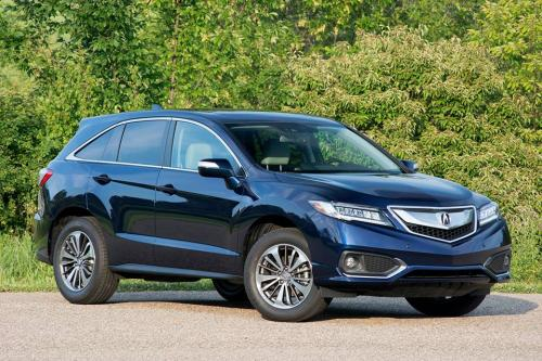 Photo Image Gallery & Touchup Paint: Acura Rdx in Fathom Blue Pearl  (B588P)  YEARS: 2016-2018