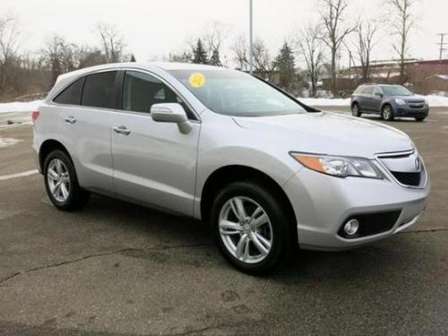 Photo Image Gallery & Touchup Paint: Acura Rdx in Silver Moon Metallic  (NH700M)  YEARS: 2013-2015