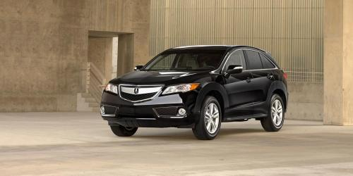 Photo Image Gallery & Touchup Paint: Acura Rdx in Crystal Black Pearl  (NH731P)  YEARS: 2013-2018