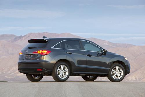 Photo Image Gallery & Touchup Paint: Acura Rdx in Graphite Luster Metallic  (NH782M)  YEARS: 2013-2016