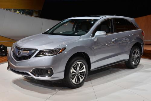 Photo Image Gallery & Touchup Paint: Acura Rdx in Slate Silver Metallic  (NH829M)  YEARS: 2016-2016