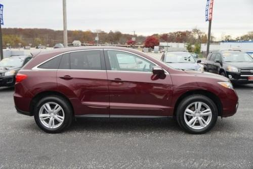 Photo Image Gallery: Acura Rdx in Basque Red Pearl 2 (R548P)  YEARS: -