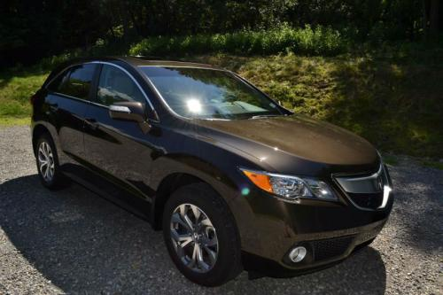 Photo Image Gallery & Touchup Paint: Acura Rdx in Kona Coffee Metallic  (YR600M)  YEARS: 2014-2018
