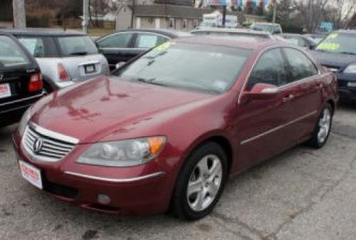Photo Image Gallery & Touchup Paint: Acura RL in Redondo Red Pearl  (B522P)  YEARS: 2005-2009