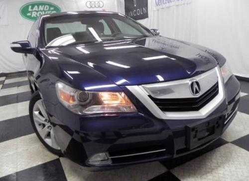 Photo Image Gallery & Touchup Paint: Acura RL in Nighthawk Black Pearl  (B532P)  YEARS: 2005-2010