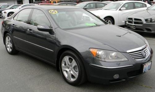 Photo Image Gallery & Touchup Paint: Acura RL in Carbon Gray Pearl  (NH658P)  YEARS: 2005-2008