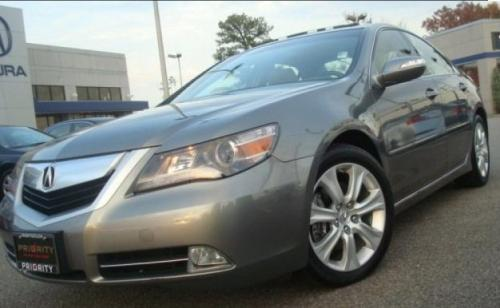 Photo Image Gallery & Touchup Paint: Acura RL in Silver Jade Metallic  (NH750M)  YEARS: 2009-2010