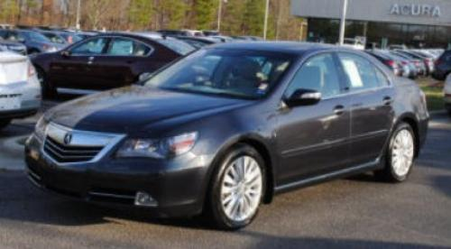 Photo Image Gallery & Touchup Paint: Acura RL in Graphite Luster Metallic  (NH782M)  YEARS: 2011-2012