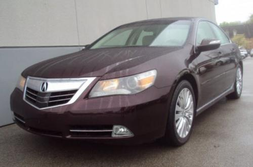 Photo Image Gallery & Touchup Paint: Acura RL in Pomegranate Pearl   (R540P)  YEARS: 2011-2012