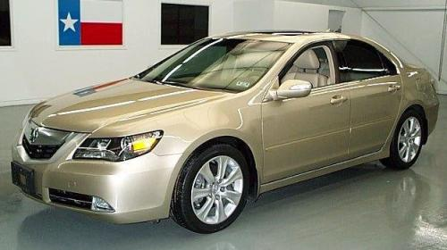 Photo Image Gallery & Touchup Paint: Acura RL in Tuscan Beige Metallic  (YR575M)  YEARS: 2009-2009