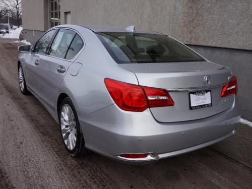 Photo Image Gallery & Touchup Paint: Acura Rlx in Silver Moon Metallic  (NH700M)  YEARS: 2014-2015
