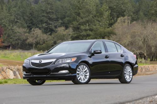 Photo Image Gallery & Touchup Paint: Acura Rlx in Crystal Black Pearl  (NH731P)  YEARS: 2014-2017