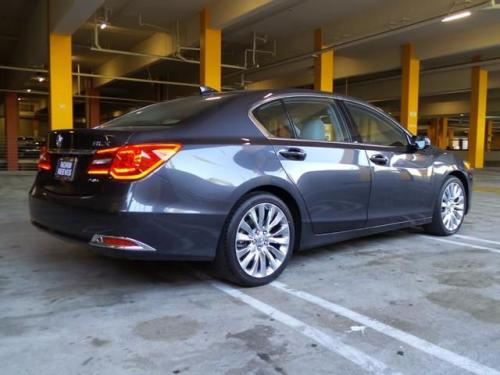 Photo Image Gallery & Touchup Paint: Acura Rlx in Graphite Luster Metallic  (NH782M)  YEARS: 2014-2017