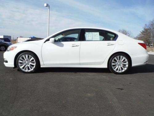 Photo Image Gallery & Touchup Paint: Acura Rlx in Bellanova White Pearl  (NH788P)  YEARS: 2014-2017