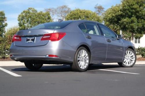 Photo Image Gallery & Touchup Paint: Acura Rlx in Forged Silver Metallic  (NH789M)  YEARS: 2014-2015