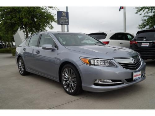 Photo Image Gallery & Touchup Paint: Acura Rlx in Slate Silver Metallic  (NH829M)  YEARS: 2016-2017