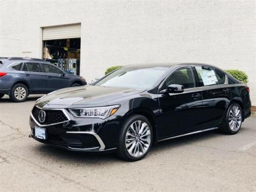 Photo Image Gallery & Touchup Paint: Acura Rlx in Majestic Black Pearl  (NH893P)  YEARS: 2018-2018