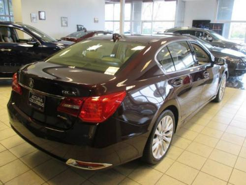 Photo Image Gallery & Touchup Paint: Acura Rlx in Pomegranate Pearl   (R540P)  YEARS: 2014-2017