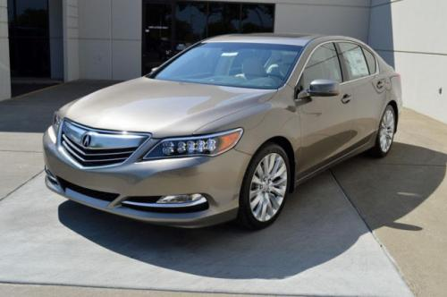 Photo Image Gallery & Touchup Paint: Acura Rlx in Gilded Pewter Metallic  (YR596M)  YEARS: 2014-2018