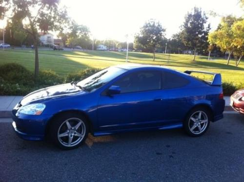 Photo Image Gallery & Touchup Paint: Acura Rsx in Vivid Blue Pearl  (B520P)  YEARS: 2005-2006