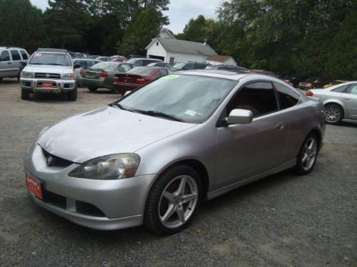 Photo Image Gallery & Touchup Paint: Acura Rsx in Alabaster Silver Metallic  (NH700M)  YEARS: 2006-2006
