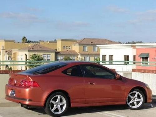 Photo Image Gallery & Touchup Paint: Acura Rsx in Blaze Orange Metallic  (YR552M)  YEARS: 2005-2006