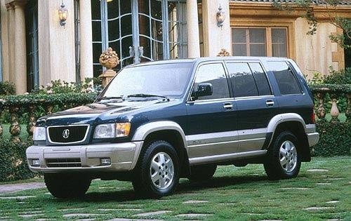 Photo Image Gallery: Acura Slx in Baltic Blue Mica On (795)  YEARS: -