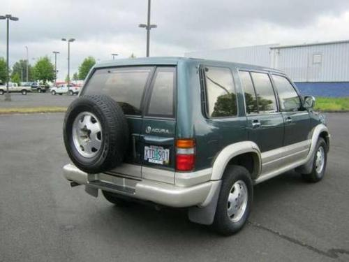 Photo Image Gallery: Acura Slx in Fir Green On Light (883)  YEARS: -