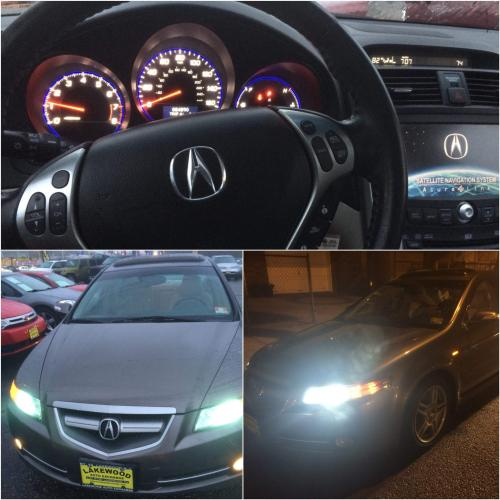 Photo Image Gallery & Touchup Paint: Acura TL In Polished
